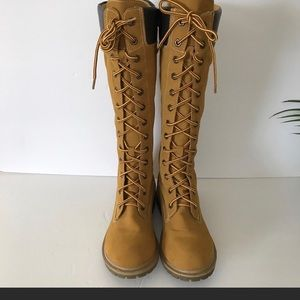 Tall Laced up Boots
